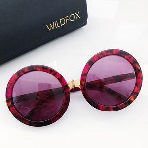 Wildfox Couture Sun Malibu Deluxe Red Sunglasses